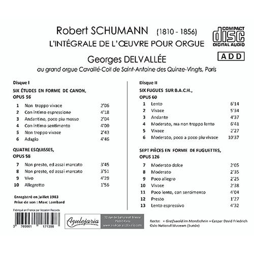 Robert SCHUMANN – Cycles pour piano-pédalier… ou orgue Back_schumann
