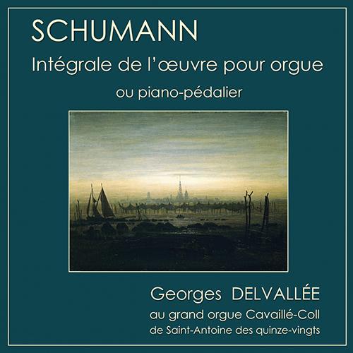 Robert SCHUMANN – Cycles pour piano-pédalier… ou orgue Schumann